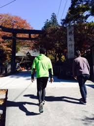 榛名神社参道入り口